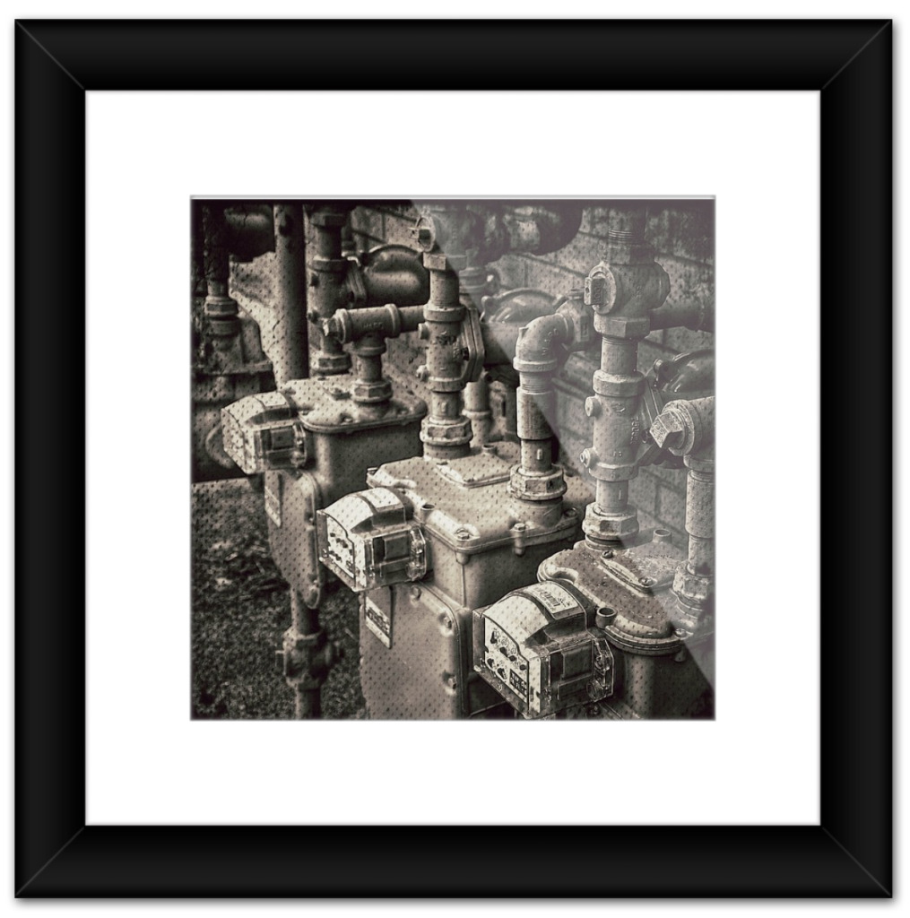 Framed Fine Art Photograph by Eric Hatheway-Meters