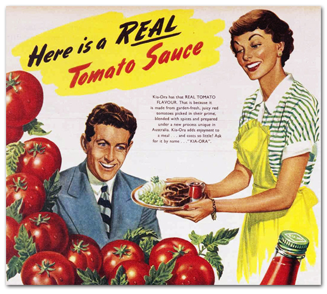 Here Is Real Tomato Sauce