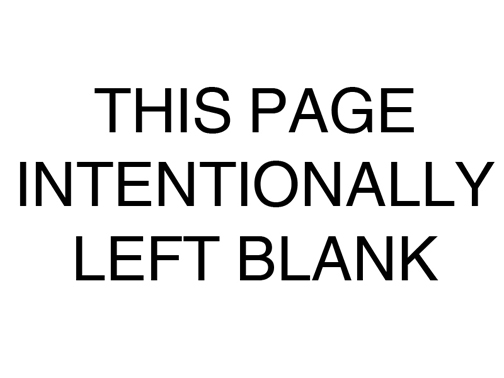 This Page Intentionally Left Blank