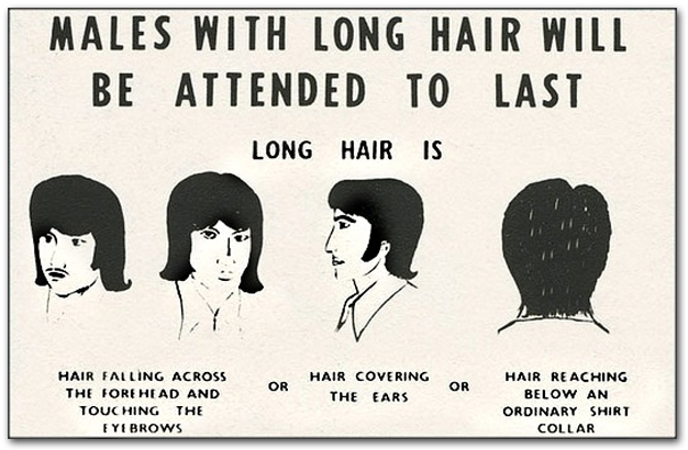 Males With Long Hair
