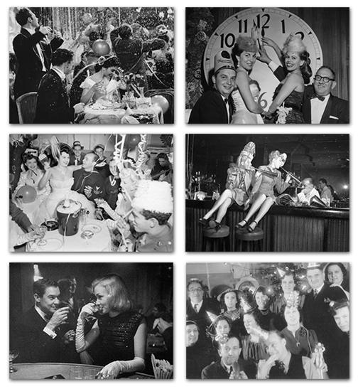 Some Vintage New Years Eve Photos