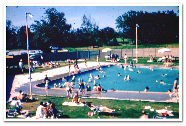 Elks Lodge Swimming Pool 1960